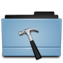 128x128px size png icon of Folder dev