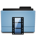 128x128px size png icon of Folder movies