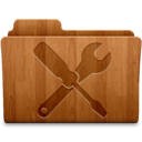 128x128px size png icon of Utilities Wood