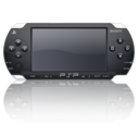 128x128px size png icon of Black psp