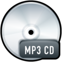 128x128px size png icon of File MP3 CD
