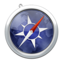 128x128px size png icon of safari2