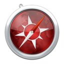 128x128px size png icon of safari5