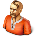128x128px size png icon of Male User