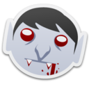 128x128px size png icon of Vampire