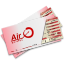128x128px size png icon of Plane Tickets