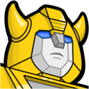 128x128px size png icon of Bumblebee