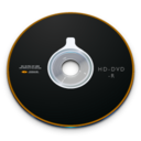 128x128px size png icon of HD DVD R