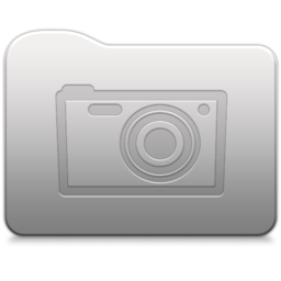 Aluminum folder   Pictures Icon