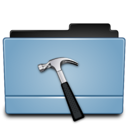 256x256px size png icon of Folder dev