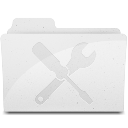 UtilitiesFolder White Icon