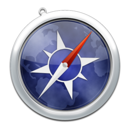 256x256px size png icon of safari2