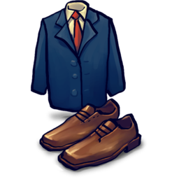 Jacket, Shoes Icon