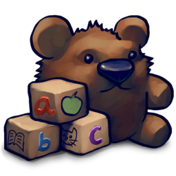 Teddy Blocks Icon