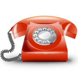 256x256px size png icon of Telefono