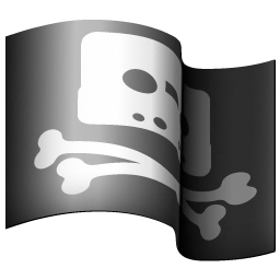 256x256px size png icon of pirate bay
