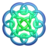 Bluegreen circleknot Icon