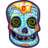 Painted Skull Icon