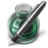 Green w silver pen Icon
