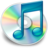 iTunes blauw Icon