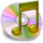 iTunes geel Icon