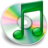 iTunes groen Icon