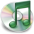 iTunes mint groen Icon