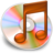 iTunes oranje 2 Icon