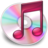 iTunes roze 2 Icon