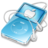 ipod video blue apple Icon