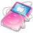 ipod video pink apple Icon