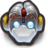 Robo DuckMonkey With Horns Icon
