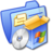 Folder Blue Software 1 Icon