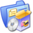 Folder Blue Software Games Icon