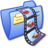 Folder Blue Video 1 Icon