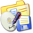 Folder Yellow Backups Icon
