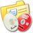 Folder Yellow DVDR & CDR Icon