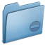 64x64px size png icon of Blue Private