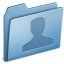 64x64px size png icon of Blue Users