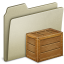 64x64px size png icon of Lightbrown Box