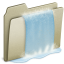 64x64px size png icon of Lightbrown Waterfall