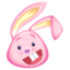 http://www.veryicon.com/icon/64/Holiday/Easter%20Rabbits/pink%20rabbit.png