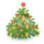 64x64px size png icon of Xmas tree