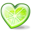 http://www.veryicon.com/icon/64/Love/Fruity%20Hearts/Lime.png