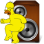 http://www.veryicon.com/icon/64/Movie%20%26%20TV/Simpsons%203/General%20Audio%20Player.png
