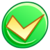 72x72px size png icon of Button ok
