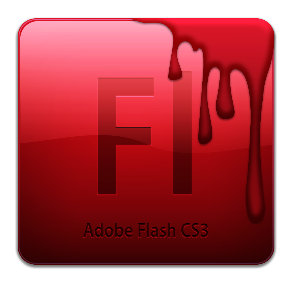 Flash CS3 Dirty Icon 256px png.