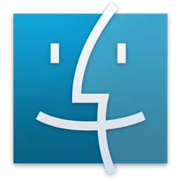 Finder Blue Icon
