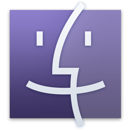 Finder Purple Icon