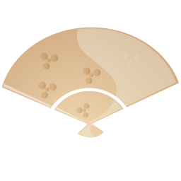 Fan beige Icon